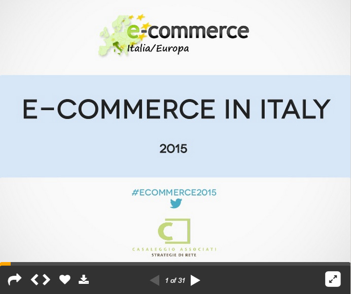 E-commerce in Italy 2015