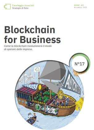 Infografica Blockchain for Business